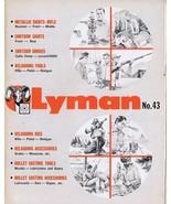 ORIGINAL Vintage Lyman Telescopic Sights & Accessories Catalog #43 - $19.79