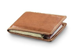Palm West Leather Front Pocket Leather Money Clip Wallet with RFIDBlock ... - $32.22