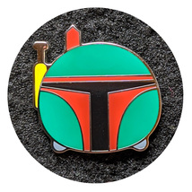 Star Wars Disney Lapel Pin: Boba Fett Tsum Tsum - $12.90