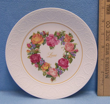 Avon 1987 Porcelain A Bouquet of Love Decorative Collectors Plate Flower... - $9.85