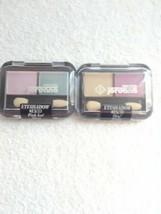 Jordana Eyeshadow Lot Of 2 Es/33 Pink Ice/Mint, Es35 Oro/Violet - $4.94