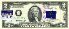 MONEY US $2 DOLLARS 1976 RICHMOND FIRST STAMP CANCEL & CHARLIE BROWN CHR... - $58.59