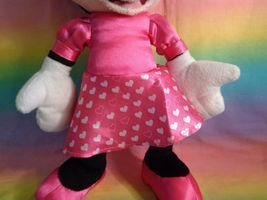 "Disney Kcare Kiu Hung Industries Minnie Mouse Pink Dress Plush Doll 13"" image 4"