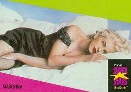 Madonna trading Card (Musician) 1991 Proset Musicards Super Stars #275 - $5.00