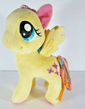 "2014 My Little Pony Hasbro Fluttershy Yellow & Pink Butterflies Plush Toy 12"" - $18.69"