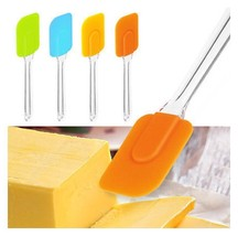 2 Pcs Spatula Spread Baking Cream Butter Mixing Scraper Spatula Set Kitchen AB12