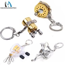 MaximumCatch® Fly  Fishing Reel 2pc/set Keychain Scroll Retractor Key Ch... - $11.37+