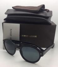 Neu Giorgio Armani Sonnenbrille Ar 8005 5001/R5 Matt Schwarz auf Rahmen ... - $250.71
