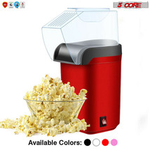 5 Core Hot Air Electric Popcorn Machine Popper Kernel Corn Maker BPA FRE... - $19.52+