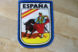 2 sided Espana,bullfighter old mexican  vtg souvenir international sticker - $12.35
