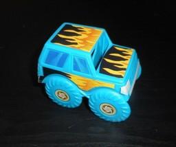 Vintage Pressman Domino Rally Pièce de Rechange Bleu Monster Truck Pièce - $5.00