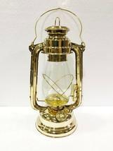 """Halloween 13"""" Vintage Brass Oil Lamp Hurricane Ship Lantern Boat Light D... - £53.33 GBP"""