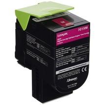 Lexmark Genuine 70C1XM0 Magenta Extra High Yield Toner Cartridge 70C1XM0 - $120.30