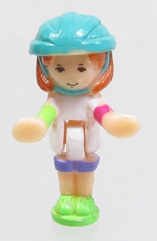 1994 Vintage Polly Pocket Dolls Polly on the Go - Daisy Bluebird Toys