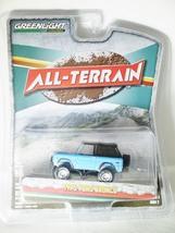 GREENLIGHT 1/64 ALL-TERRAIN Series 2 1975 FORD BRONCO Die-cast Figure Blue - $19.99