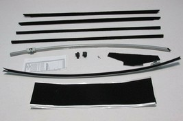 1964-1/2 To 1966 Ford Early Mustang Fastback Deluxe Weatherstrip Kit 11 Pc - $195.98