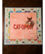 Cat opoly board game replacement board ONLY - $5.89