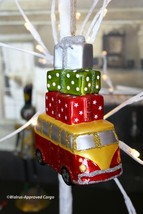 Pottery Barn Mercury Glass Van Ornament -NWT- Ready To Cruise For Holiday Fun! - $24.95
