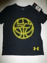 Under Armour Boys YXS Black Graphic SC30 Vision Ball Short Sleeve T Shir... - $14.84