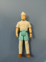 Fisher Price Sweet streets ice cream man truck driver w/hat  blue apron USED - $9.89