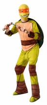 Licensed Teenage Mutant Ninja Turtles Michelangelo Tmnt Child Costume Medium - $21.39