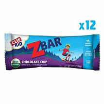 Clif Kid ZBAR - Organic Granola Bars - Chocolate Chip - (1.27 Ounce Energy Bars, - $16.99