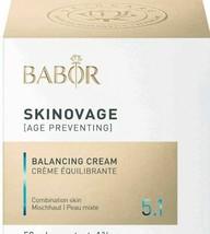 Babor Balancing Cream 50 ml.SEALED & FRESH - $69.97