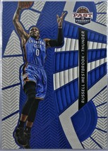 2012-13 RUSSELL WESTBROOK Panini Past & Present Insert Card - $6.00