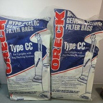Two (2) Packs of 8 Oreck XL Type CC Vacuum Cleaner Bags CCPK8DW - $17.77