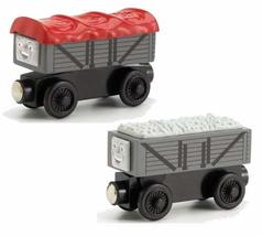 Thomas And Friends Wooden Railway - Giggling Troublesome Trucks - $41.58