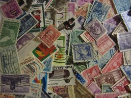 Super stamp lot 200 ALL DIFFERENT USED STAMPS great mix with FREE SHIPPI... - $5.93