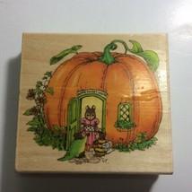 Holly Pond Hill Susan Wheeler Stamp Uptown Rubber Stamp L13134 Pumpkin H... - $56.06