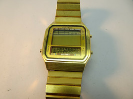 VINTAGE SEIKO D409-5009 SIGN TABLE MEMO CHANNEL LCD WATCH FOR RESTORATIO... - $114.89