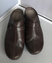 Rockport DMX Women's Brown Slip-Ons Mules Slides Clogs Loafers Size 8.5 W - $29.65