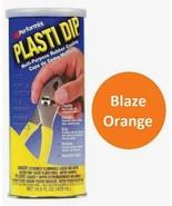 BLAZE ORANGE 14.5oz Performix PLASTI DIP Plastic Rubber Grip Coating Handle - $17.99