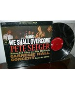 We Shall Overcome [Vinyl] Pete Seeger - £15.94 GBP