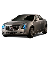 Flashtech Brightest Blue LED Halo Ring Headlight Kit for Cadillac CTS 08-13 - $130.98
