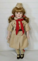 Vintage Marian Yu Doll ~ GIRL SCOUT MARY ~ Limited Edition - In MINT Con... - $15.47