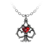 Alchemy Gothic P759  Lucky In Love Necklace Pendant - $27.69
