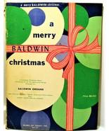 A Merry Baldwin Christmas 1959   ~~organ music - $10.99
