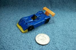 McDonald's 2002 Mattel Hot Wheels Blue Racer Metal & Plastic - $1.56