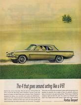 1962 Pontiac Tempest 4 Print Ad - $9.99