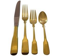 Eighteen Ten Gold by International Sterling Silver Flatware Service Set Vermeil - $2,795.00