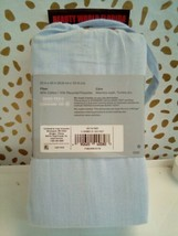 Made By Design Solid Easy Care Pillowcase Set (King) Light Blue NEW! STORE image 2