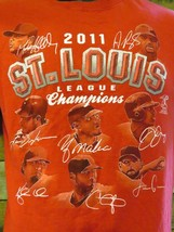 St Louis Cardinals 2011 Ligue Champions T-Shirt TAILLE S - $10.39