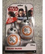 Star Wars Disney BB-8 - The Last Jedi - Walkie Talkies *NEW* Factory Sealed - $26.88