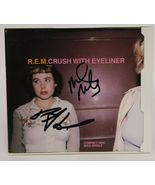 """Mike Mills & Peter Buck Signed Autographed """"Crush With Eyeliner"""" R.E.M. ... - $79.99"""