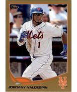 2013 Topps Gold #483 Jordany Valdespin NM-MT 0826/2013 Mets - $1.00