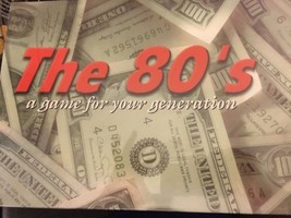 The 80s: A Game for Your Generation, Classic Real Estate Trading Board Game - $29.70