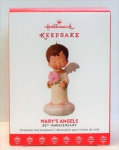 2017 Hallmark Mary's Angels 30th Anniversary Porcelain Christmas Ornament - $32.90